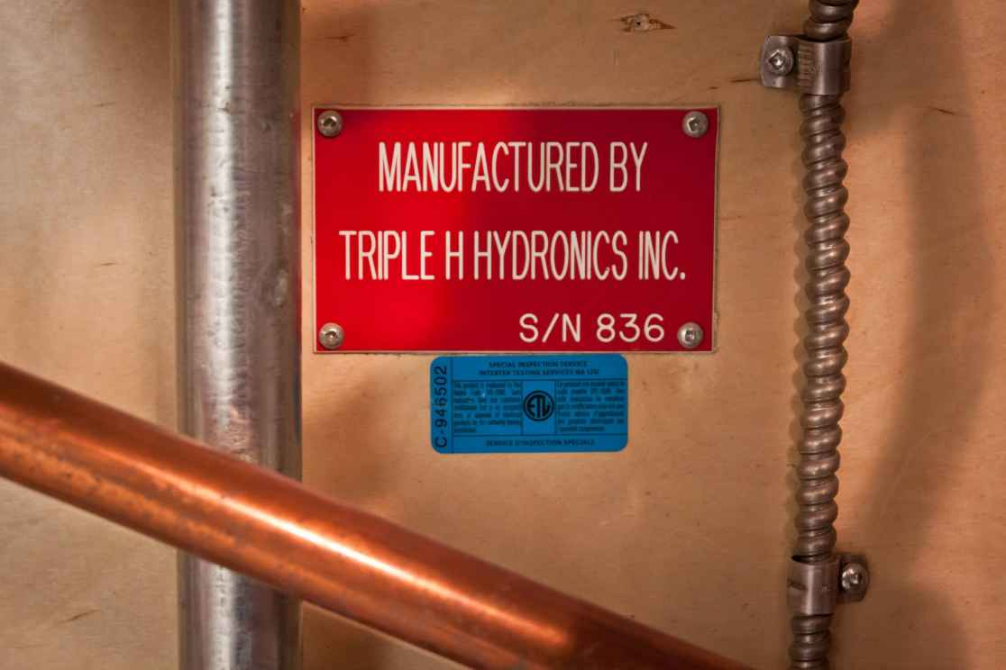Manufactured By Triple H Hydronics