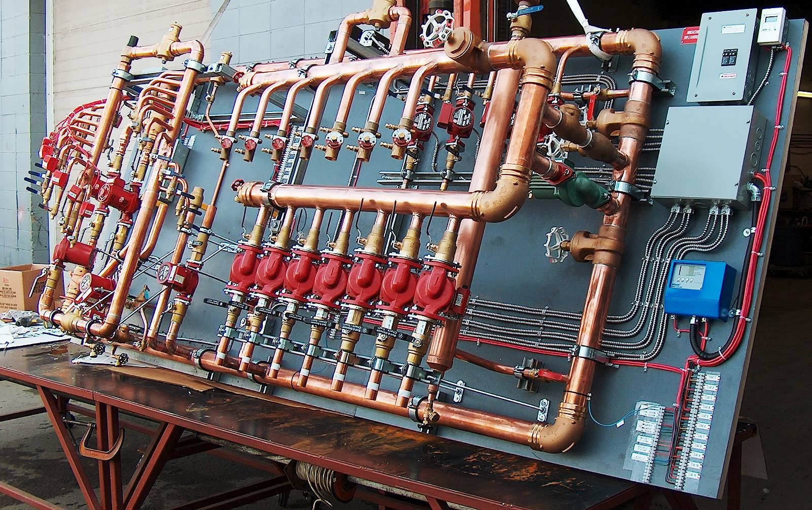 Commercial Hydronic Heating Systems Triple H Hydronics Inc Wiring That Keep Industry Moving